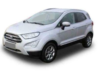 gebraucht Ford Ecosport EcoSport1.0 ECOBOOST 92KW / 125PS