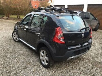 gebraucht Dacia Sandero Stepwey 1.5 DCi Klima Euro 4 Unfall