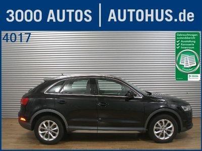 gebraucht Audi Q3 2.0 TDI Quattro design Navi Xenon Adv.Key AHK