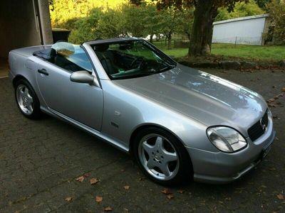 gebraucht Mercedes SLK200 - seltene AMG Ausführung als Cabrio/Roadster in Wilnsdorf
