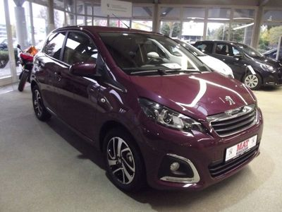 gebraucht Peugeot 108 108 PureTechAllure Look/ Klima/ MirrorScreen
