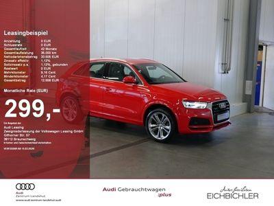 gebraucht Audi Q3 2.0 TFSI quattro S line S tronic S-Line Carbo