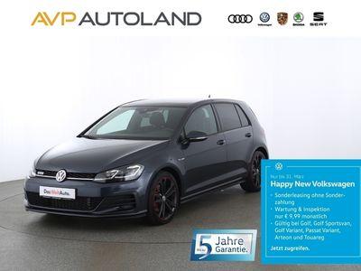 gebraucht VW Golf VII 2.0 TDI BMT DSG | PANO ACC schwarz