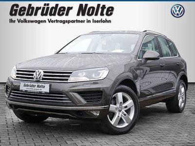 gebraucht VW Touareg AHK SHZ LEDER KAMERA XENON ACC EU6