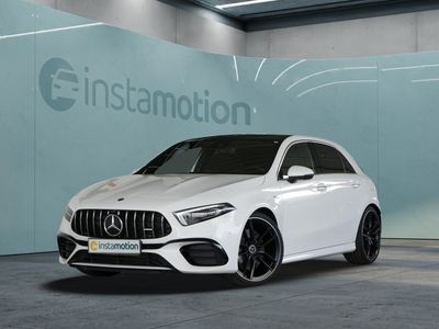 "gebraucht Mercedes A45 AMG A 45 AMG4M+ 20"" NaviPrem 360 Multibeam Pano LED"