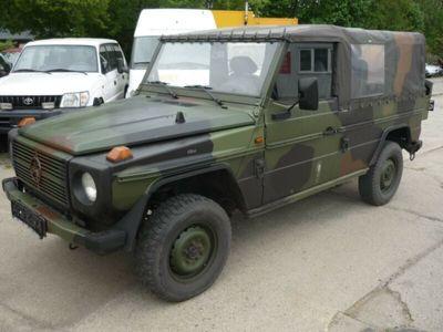 gebraucht Mercedes G290 GD Turbo Wolf ex Bundeswehr - lang - LKW