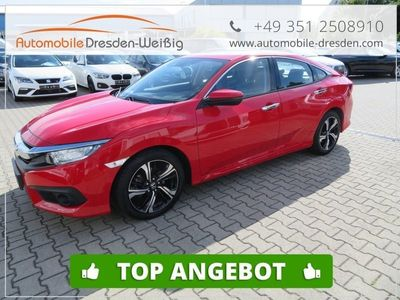 gebraucht Honda Civic 1.5 VTEC Executive 9 Gang*LED*Navi*Leder