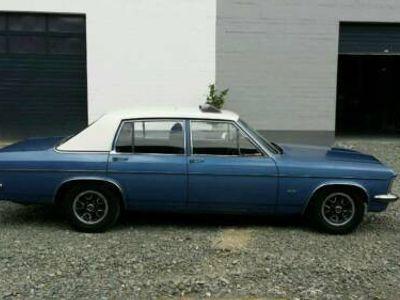 gebraucht Opel Diplomat B, 2.8H, Gasanlage+ChevyFelg.eingetragen H-Gutacht.