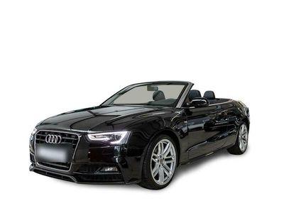 gebraucht Audi A5 Cabriolet TDI s-line Sound+Navi+Xenon+SHZ+PDC+Teilled+Klimaaut+LMF+Nebel
