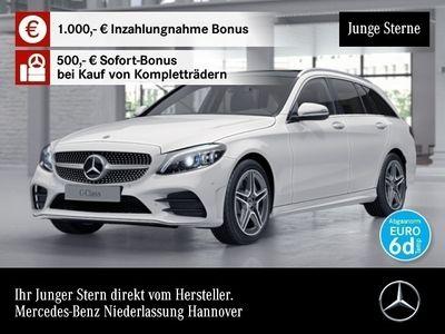 gebraucht Mercedes C400 T 4M AMG Stdhzg Pano Multibeam Distr. COMAND