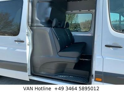 gebraucht Mercedes Sprinter 316 CDI Maxi Mixto 6 Sitze AHK