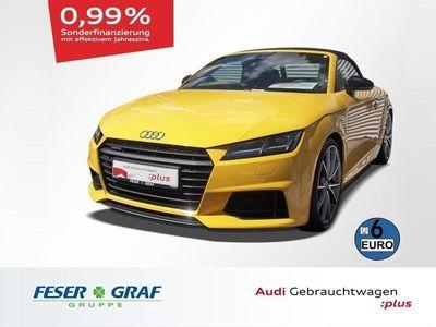 gebraucht Audi TT Roadster 2.0 TFSI quattro S-tronic S-line LED Sche