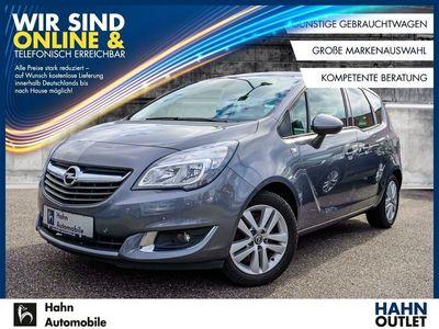 gebraucht Opel Meriva Style 1.4 Turbo Sitzh Einpark Klimaa