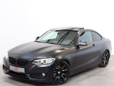 gebraucht BMW 230 i Coupe Sport Line NAVIPROF,KEYLESS,HARMAN/K