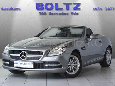 gebraucht Mercedes SLK200 K Airscarf Navi Parktronic BiX Sitzh.