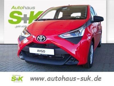 gebraucht Toyota Aygo 1.0l Benzin 5-Türer X ABS Fahrerairbag ESP