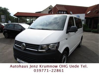 gebraucht VW T6 Kombi KR 2.0 TDI 110 KW Navi + AHK + 9 Sitzer