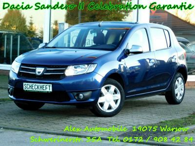 gebraucht Dacia Sandero II Celebration Garantie TÜV NEU