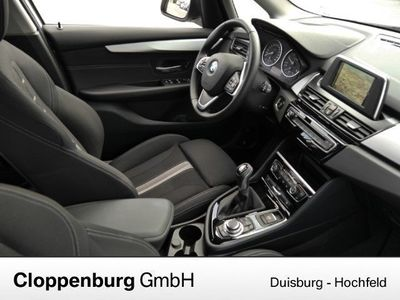 gebraucht BMW 218 Active Tourer d Advantage NAVI LED TEMPOMAT