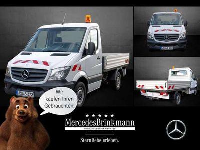 gebraucht Mercedes Sprinter 210 CDI Pritsche Kompakt Klima HiFi/L-R Sensor
