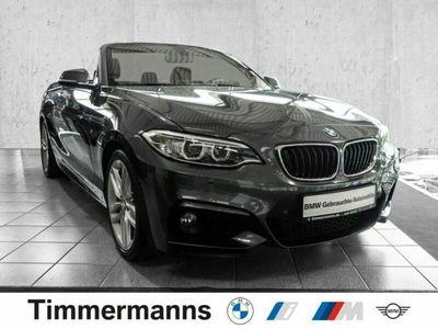 gebraucht BMW 220 i Cabrio M Sport Navi Business Klimaaut. PDC