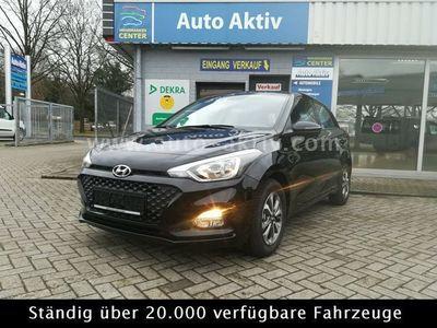 used Hyundai i20 blue 1.0 T-GDI