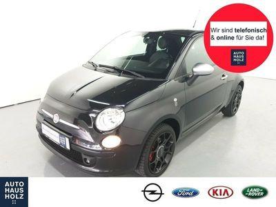 gebraucht Fiat 500 Rock Star 1.4 16V Multif.Lenkrad Klima PDC CD MP3 ESP Spieg.beheizbar