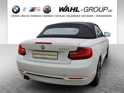 gebraucht BMW 220 d Cabrio Sport Line Navi Xenon HiFi USB PDC