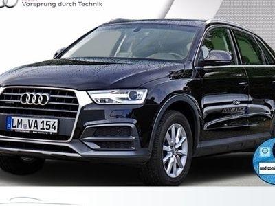 gebraucht Audi Q3 Design 2.0 TDI quattro Klima Navi Xenon Alu CD 7-