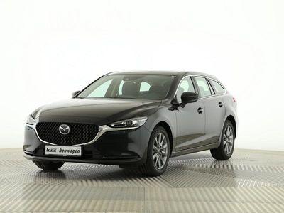gebraucht Mazda 6 Kombi Prime-Line LED NAVI ACAA MRCC HUD 0,99%