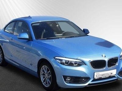 gebraucht BMW 218 i Coupe LR 399,- br.o.Anz 42Mon/10''km p.A.