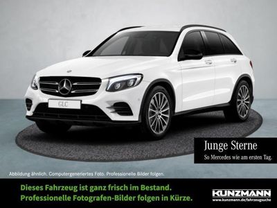 gebraucht Mercedes GLC250 d 4M AMG Night Navi LED Kamera ParkPaket