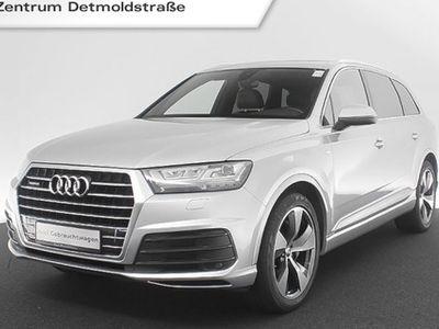 gebraucht Audi Q7 3.0 TDI qu. S line 7-Sitzer Assistenz Pano Standhz