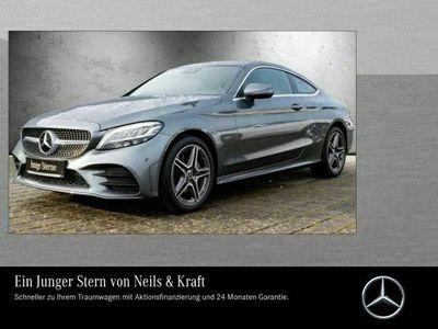 "gebraucht Mercedes C180 Coupé AMG+CARPLAY+SPUR+KAMERA+TOTW+LED+18"""