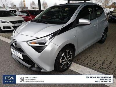 gebraucht Toyota Aygo x-play connect 70 5t*KLIMA*METALLIC*ALUFELGEN