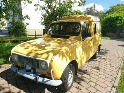 """used Renault R4 F4 """"La Poste"""""""