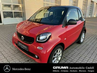 gebraucht Smart ForTwo Coupé BENZINER+LED+PANODACH+COOL+AUDIO+ DAB+SHZ
