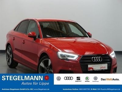 gebraucht Audi A3 Limousine sport 1.6 TDI AHK LED Black Edition