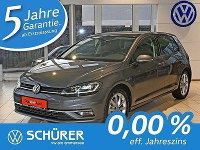 gebraucht VW Golf I Golf 7 Highline 2.0TDI DSG LED°Navi°Pano°Kamera°DAB+Keyless°Active-Info