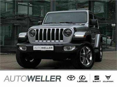gebraucht Jeep Wrangler 2.2 CRDi AWD AT Sahara *Softtop*