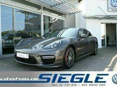 gebraucht Porsche Panamera Turbo 4.8 LED SSD Sportchrono Carbon Sportdesign +
