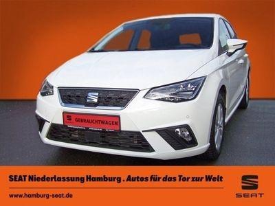 gebraucht Seat Ibiza Style 1.0 LED Navi Rückfahrkam. LED-hinten LED-Tagfahrlicht RDC Klima PDC CD AUX