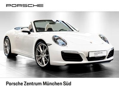 gebraucht Porsche 911 Carrera Cabriolet 991 3.0 BOSE Sportabagsanlage