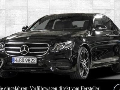gebraucht Mercedes E400 4M AMG Fahrass Stdhzg Pano Sportpak Distr+