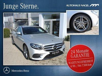 gebraucht Mercedes E300 AMG INT&EXT+Distronic+MULTI+Spur Pkt+DAB