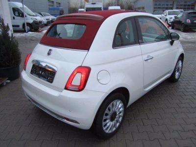 gebraucht Fiat 500C 1.2 Lounge Verdeck rot