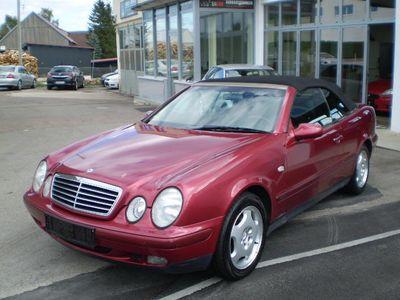 gebraucht Mercedes CLK200 Cabrio Elegance/Vollausstattung/Tüv 03-2020