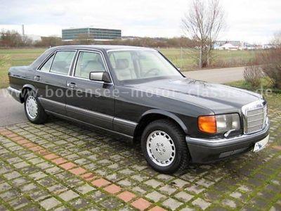 gebraucht Mercedes 500 SE,letzter aus`90,Leder beige,252PS,Orig.zstd