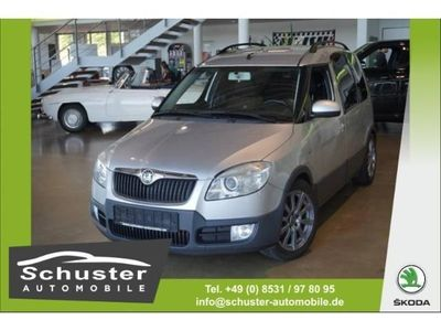 gebraucht Skoda Roomster Scout 1.6 16V Klimaautom SHZ PDC CD MP3