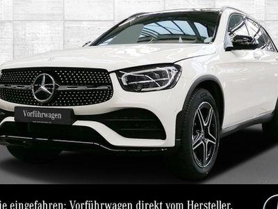 gebraucht Mercedes GLC300 d 4M AMG Pano Burmester LED Night Keyl-GO